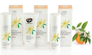 A line of Green People products