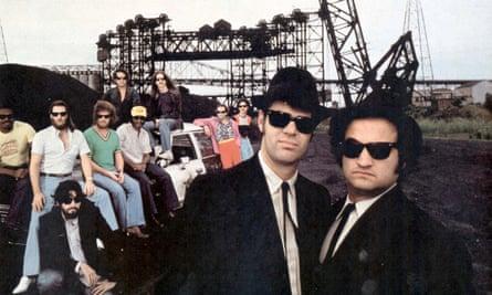 Dan Aykroyd and John Belushi in The Blues Brothers.