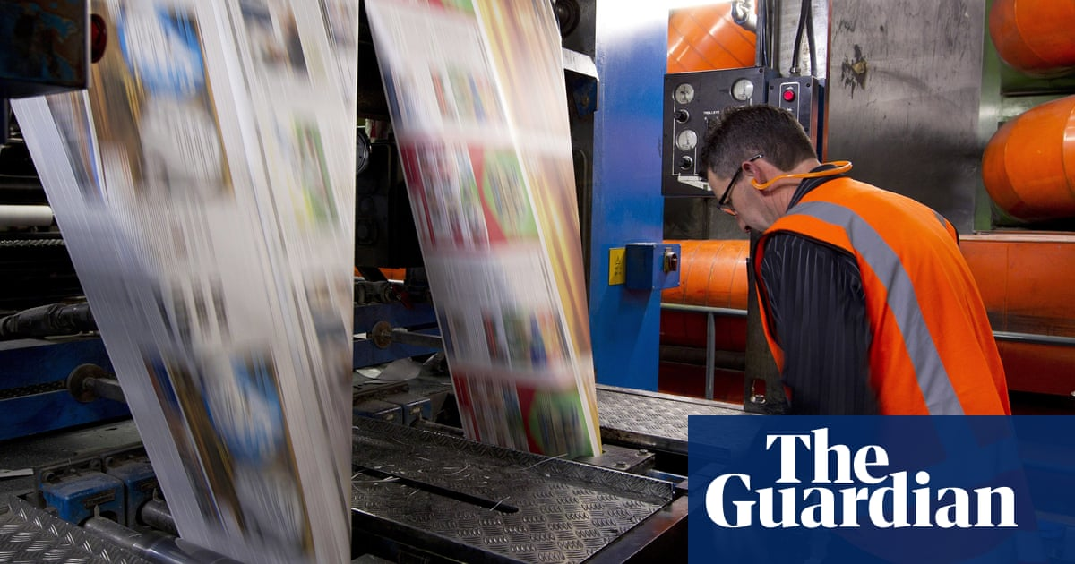 Australian media: number of people reading news in print has halved since 2016