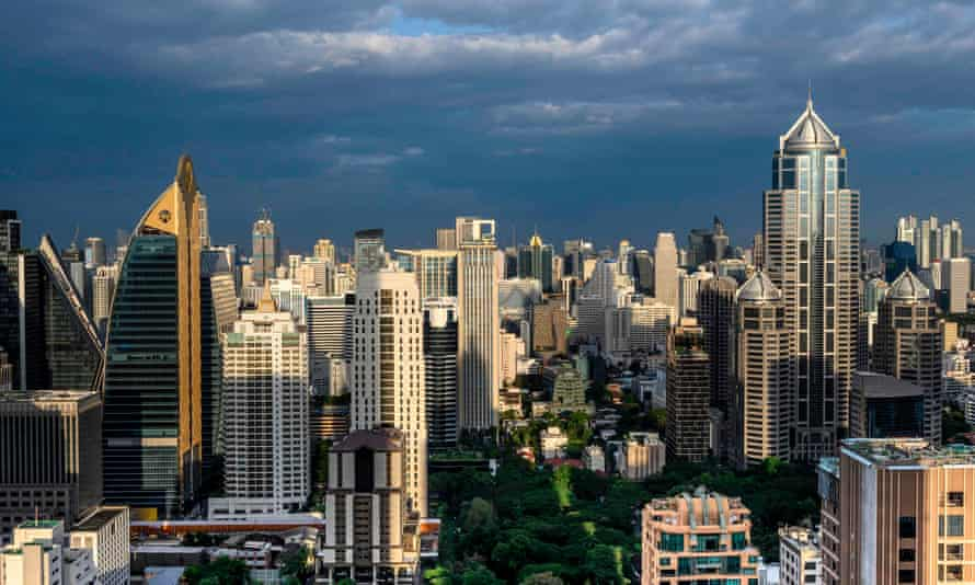 A view of Bangkok's skyline