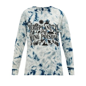 Tie-dye tee, £95, by Story MFG, from matchesfashion.com.