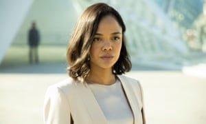 Body swap … Tessa Thompson as the character formerly known as Charlotte Hale.