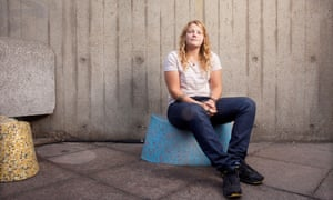 Kate Tempest photographed at the Southbank Centre, London.