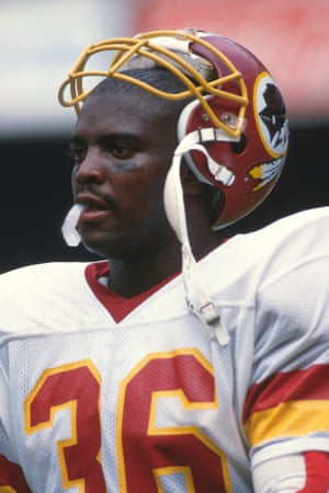 Timmy Smith in September 1988. His 204 rushing yards remain a Super Bowl record.