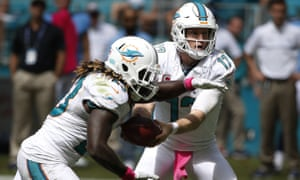 Tannehill finished 12 for 18 for 191 yards with two interceptions.