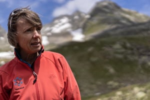 Marcia Phillips, a permafrost expert with the Institute of Snow and Avalanche Research