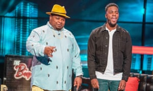 Hats off: hosting the Big Narstie Show with comedian Mo Gilligan.