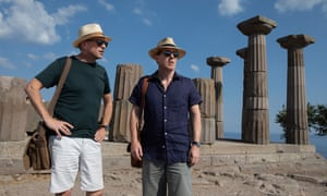 Steve Coogan and Rob Bryden in The Trip To Greece.