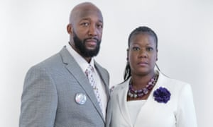 Tracy Martin and Sybrina Fulton, the parents of Trayvon Martin.