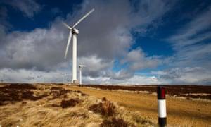 Ovenden windfarm, Halifax, Yorkshire