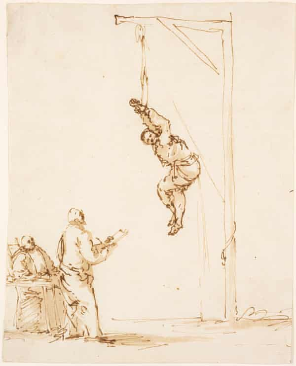 Strappado … Inquisition Scene, mid to late 1630s.