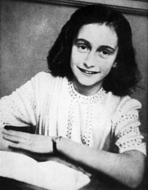 Anne Frank spent two years with her family and another Jewish family in a secret annex behind a canal-side house in Amsterdam.