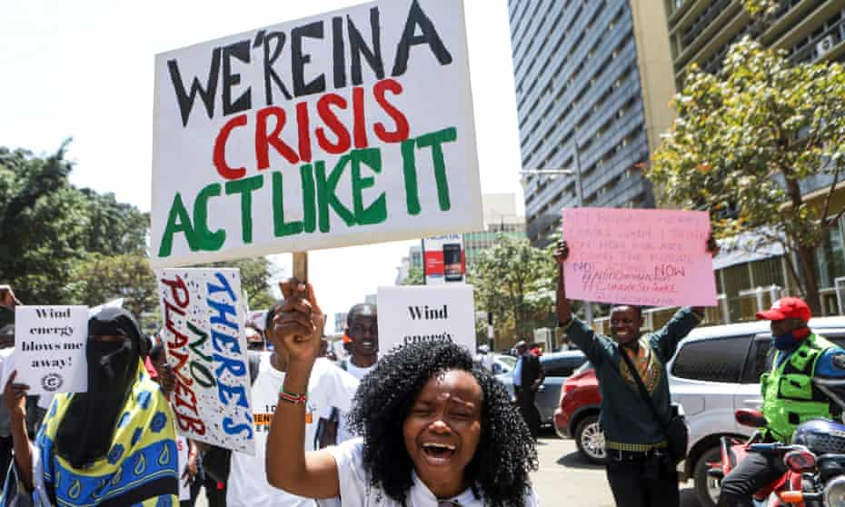 Global Climate Strike in Kenya
