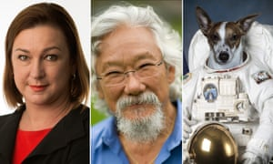 Lenore Taylor, David Suzuki and First Dog on the Moon