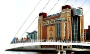 Baltic Centre for Contemporary Art in Gateshead.