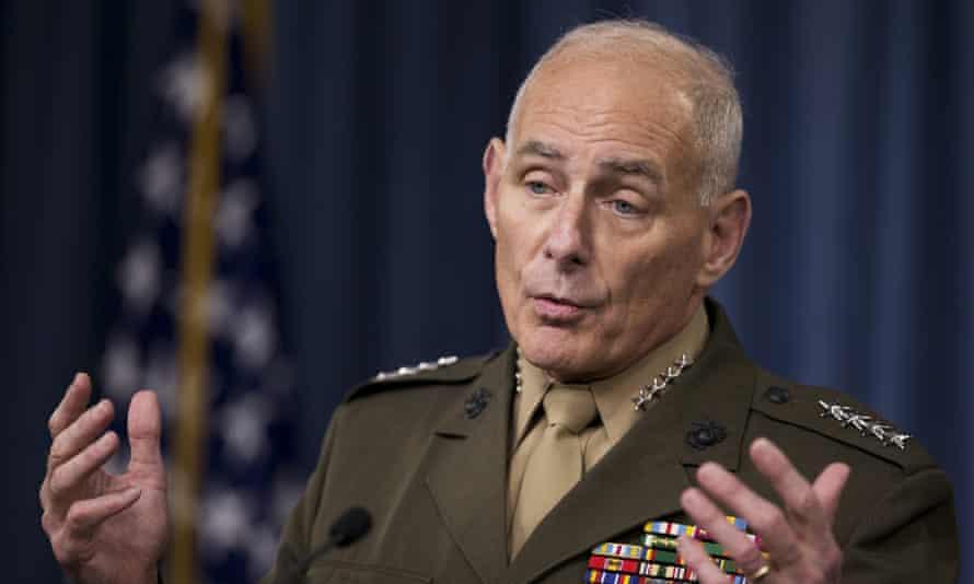 General John F Kelly.