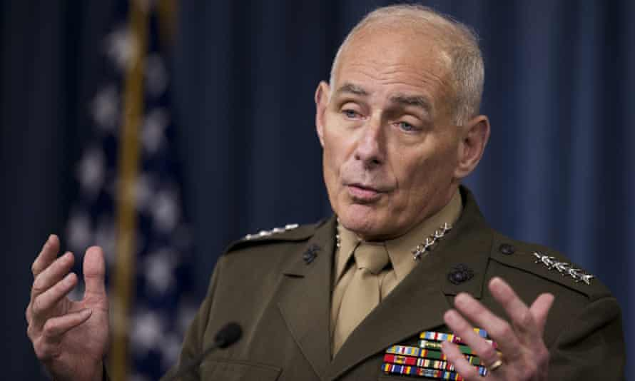 retired general John Kelly