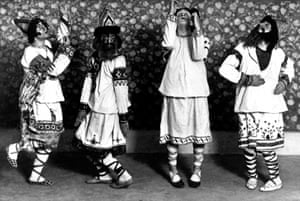 The Ballets Russes in The Rite of Spring.