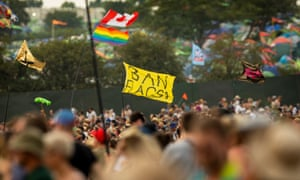 Not flagging yet – the crowd at Glastonbury 2019.