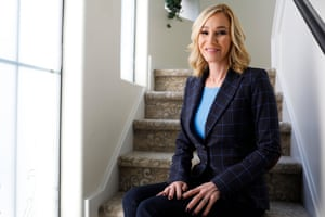 Pastor Paula White-Cain poses for a portrait in her home in Apopka, Florida on Thursday, February 28, 2019. White-Cain is a senior pastor at New Destiny Christian Center.