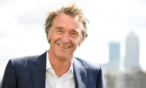 Jim Ratcliffe, 65, whose company Ineos made profits of £2.2bn last year.