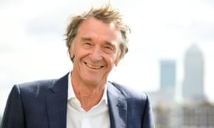 Jim Ratcliffe, CEO of British petrochemicals company Ineos.