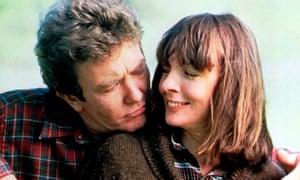 Albert Finney and Diane Keaton in Shoot the Moon, 1982