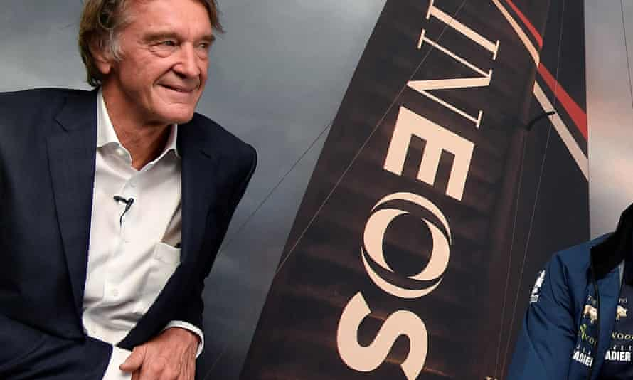 Jim Ratcliffe is Britain's richest man and the chairman of the petrochemical company Ineos.