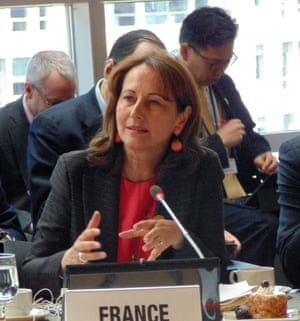 Ségolène Royal, Minister of Environment for France, co-chairs the Assembly.
