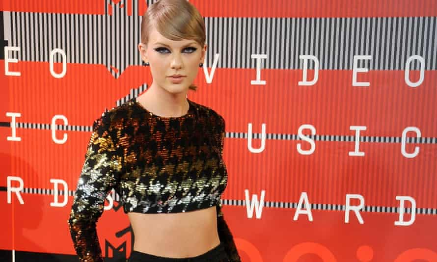Taylor Swift at the MTV video music awards on Sunday