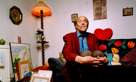 Wilson Harris in 2006. After publishing his first poetry, he found it 'impossible to stay in Guyana and write'. So, in 1959, he moved permanently to Britain.