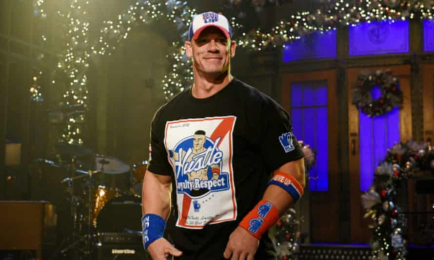 John Cena hosted this week's Saturday Night Live.