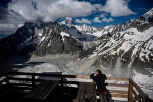 Aspiring mountain guide Yann Grava