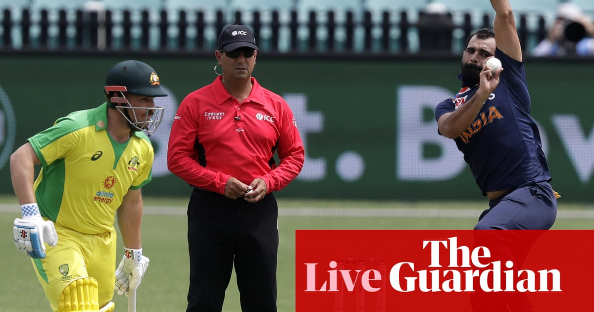 Australia v India: second one-day international – live! – The Guardian