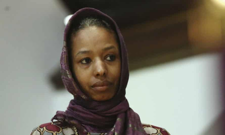 Larycia Hawkins<br>In this Dec. 13, 2015 photo, Larycia Hawkins, a Christian, and an associate professor of political science at Wheaton College, a private evangelical school in Wheaton, Ill., wears a hijab at a church service in Chicago. The school said in a statement Tuesday Dec. 16, 2015, it has Hawkins placed on administrative leave because of statements she made on social media about similarities between Islam and Christianity. (Stacey Wescott/Chicago Tribune via AP)