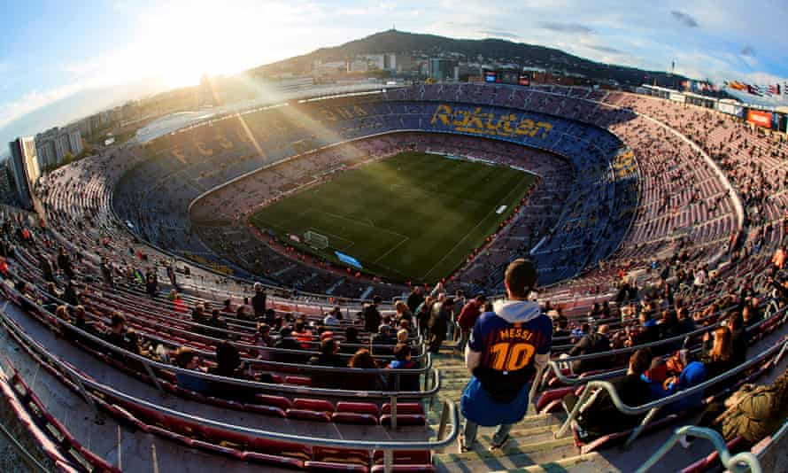 The Camp Nou will have a formal name for the first time next season