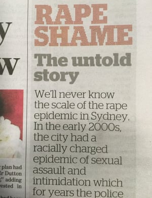How the Herald trailed Paul Sheehan's story on its front page