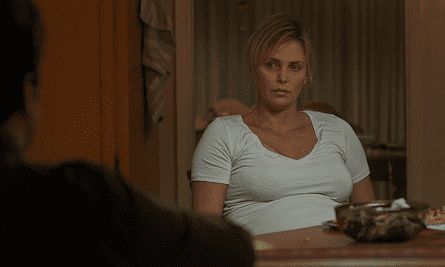 Worth the seven-year wait ... Charlize Theron in Tully
