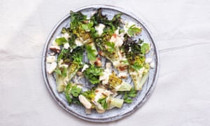 Tom Hunt's barbecued lettuce.