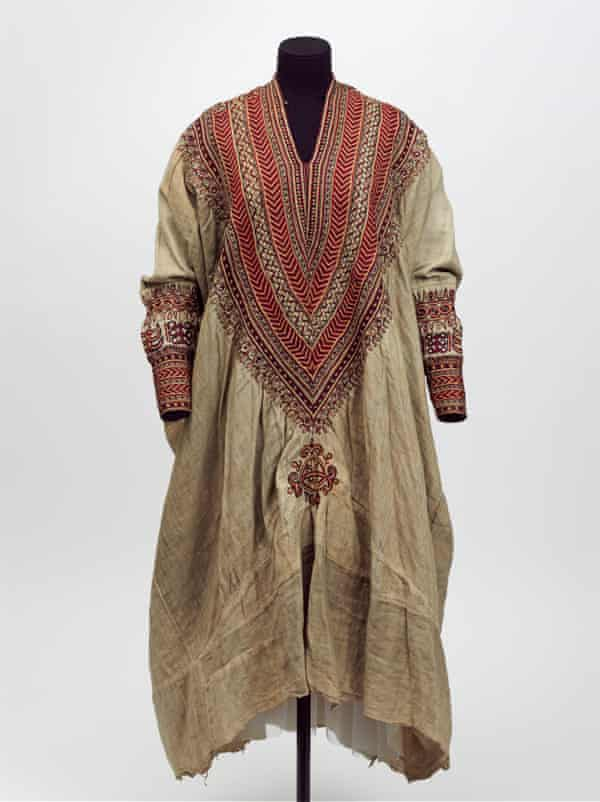 Woman's dress from the 1860s.