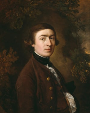 Self-portrait by Thomas Gainsborough (c1758-59).