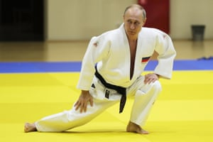 Sochi, RussiaPresident Vladimir Putin during a training session with the Russian national judo team at the Yug-Sport Training Center.