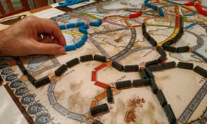 ticket to ride strategy board game