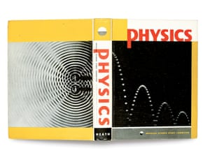 Berenice Abbott, front and back covers of Physics, 1960.