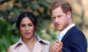 Victims of an abusive relationship … Meghan and Harry.