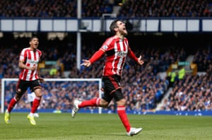 Danny Graham celebrates scoring his one and only goal for Sunderland.