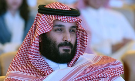 Crown Prince Mohammed bin Salman attends the 2017 Future Investment Initiative (FII) conference in Riyadh