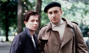 A sort of love story … Gary Oldham as Joe Orton and Alfred Molina as Kenneth Halliwell.
