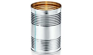 The eye-wateringly expensive Tiffany tin can