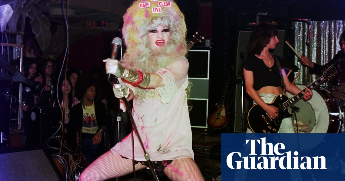 'We got shot at' – the outrageous life of Jayne County, the first trans rock'n'roller